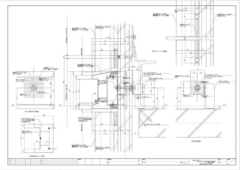 XSB-5529_01-01 施工図